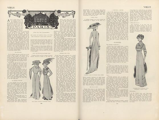 Article Preview: Paris (From Our Own Correspondent), December 3 1908 | Vogue