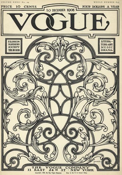Issue: - December 10 1908 | Vogue