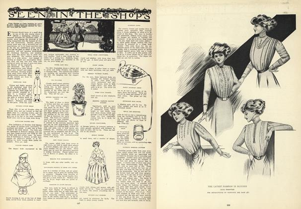Article Preview: Seen in the Shops, December 10 1908 | Vogue