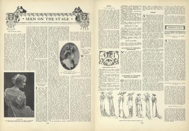 Article Preview: Seen on the Stage, December 10 1908 | Vogue