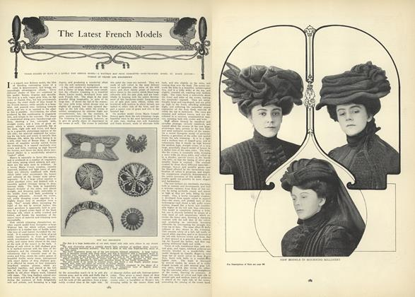 Article Preview: The Latest French Models, December 10 1908 | Vogue