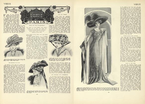 Article Preview: Paris (From Our Own Correspondent), December 10 1908 | Vogue