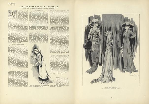 Article Preview: The Sumptuous Furs of Winter, December 17 1908 | Vogue