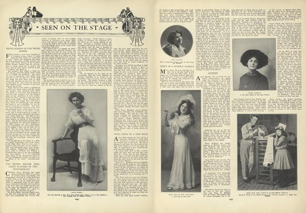 Article Preview: Seen on the Stage, December 17 1908 | Vogue