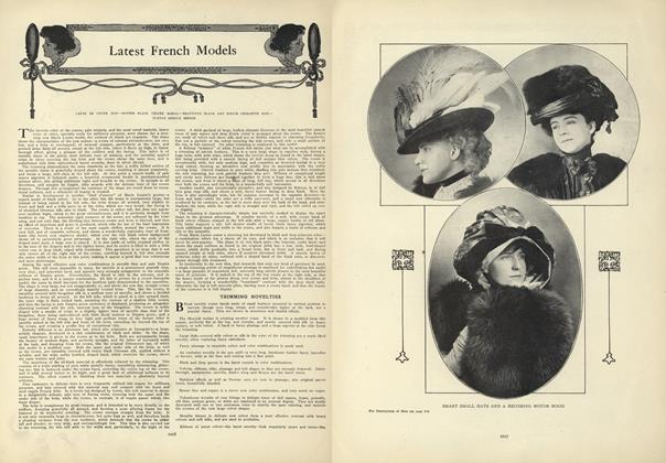 Article Preview: Latest French Models, December 17 1908 | Vogue