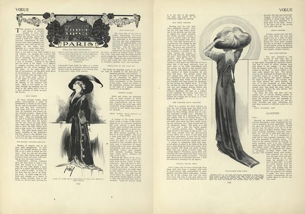 Article Preview: Paris (From Our Own Correspondent), December 17 1908 | Vogue