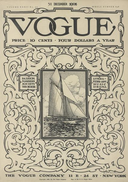 Issue: - December 31 1908 | Vogue