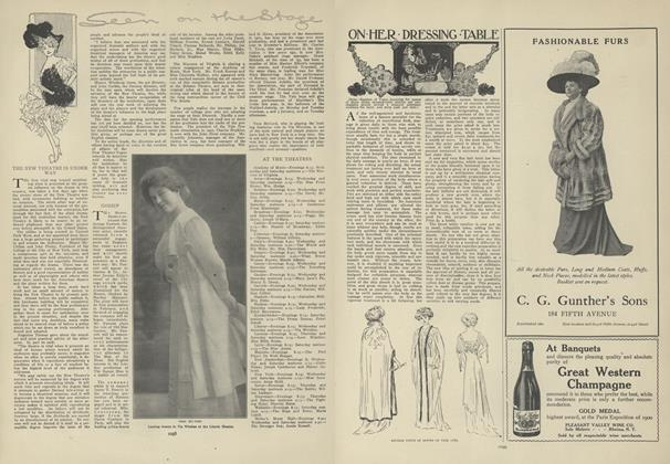 Article Preview: Seen on the Stage, December 31 1908 | Vogue