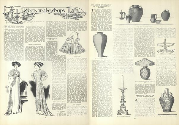Article Preview: Seen in the Shops, January 7 1909 | Vogue