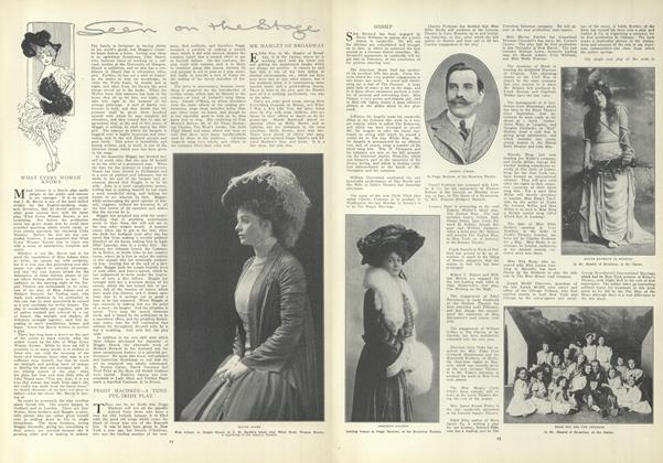 Article Preview: Seen on the Stage, January 7 1909 | Vogue
