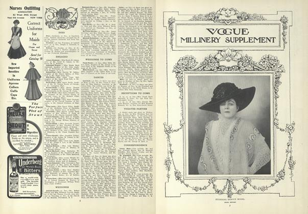 Article Preview: Society, January 7 1909 | Vogue