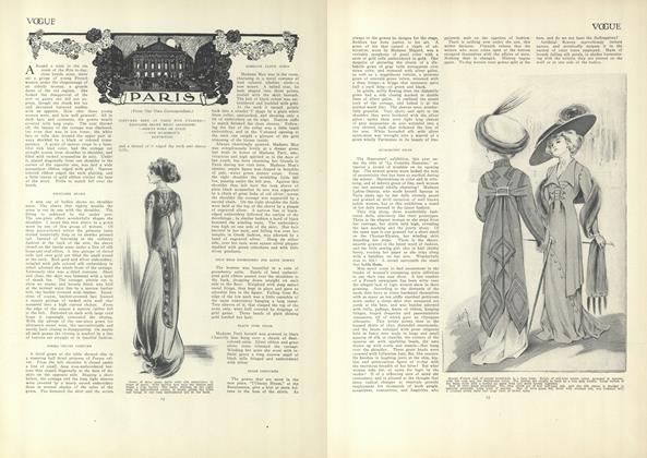 Article Preview: Paris (From Our Own Correspondent), January 7 1909 | Vogue