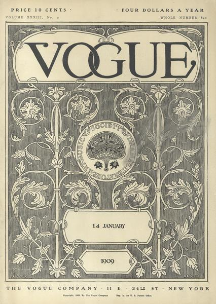 Issue: - January 14 1909 | Vogue