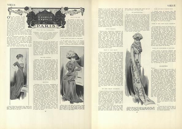 Article Preview: Paris (From Our Own Correspondent), January 14 1909 | Vogue