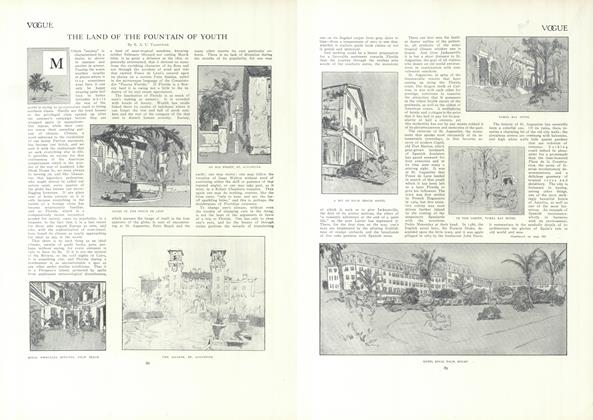 Article Preview: The Land of the Fountain of Youth, January 21 1909 | Vogue