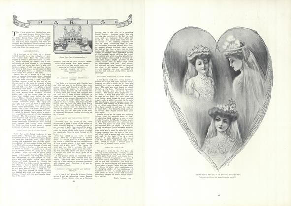 Article Preview: Paris (From Our Own Correspondent), January 21 1909 | Vogue
