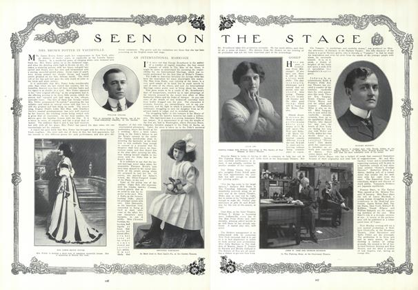 Article Preview: Seen on the Stage, January 21 1909 | Vogue