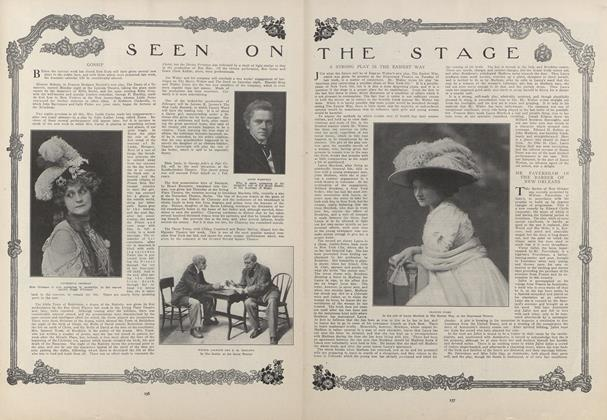 Article Preview: Seen on the Stage, January 28 1909 | Vogue