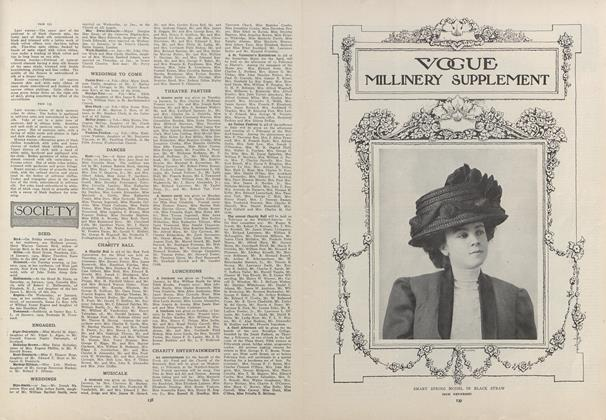 Article Preview: Society, January 28 1909 | Vogue