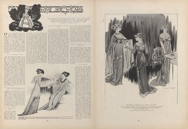 Article Preview: What She Wears, February 4 1909 | Vogue