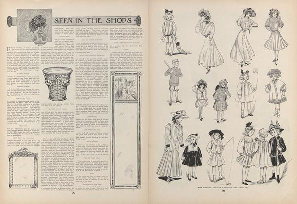 Article Preview: Seen in the Shops, February 4 1909 | Vogue