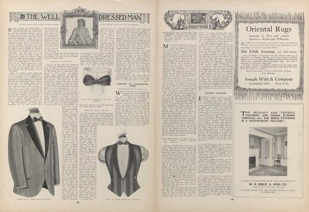 Article Preview: The Well Dressed Man, February 4 1909 | Vogue