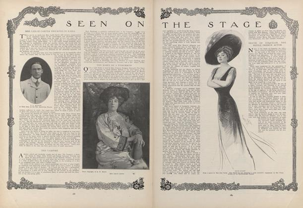 Article Preview: Seen on the Stage, February 4 1909 | Vogue