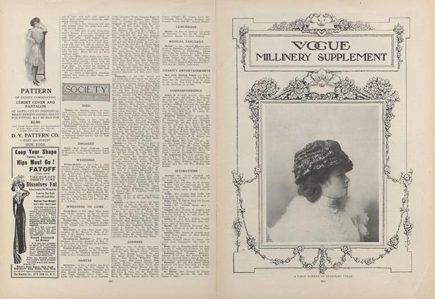 Article Preview: Society, February 4 1909 | Vogue
