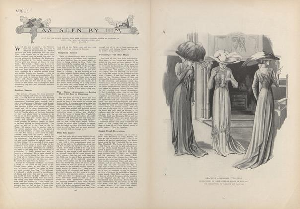 Article Preview: As Seen by Him, February 4 1909 | Vogue