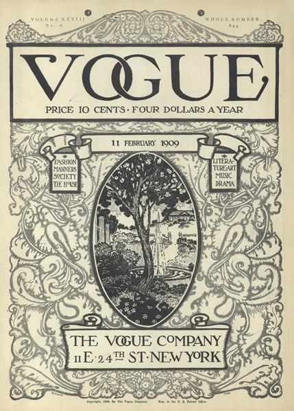 Issue: - February 11 1909 | Vogue