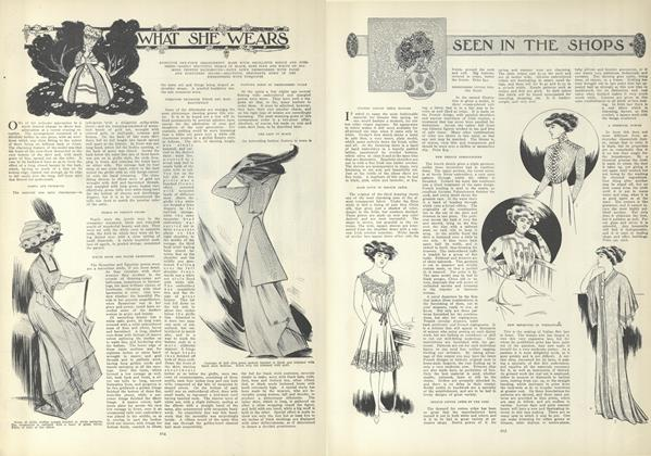 Article Preview: What She Wears, February 11 1909 | Vogue