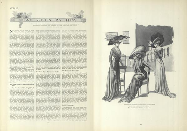 Article Preview: As Seen by Him, February 11 1909 | Vogue