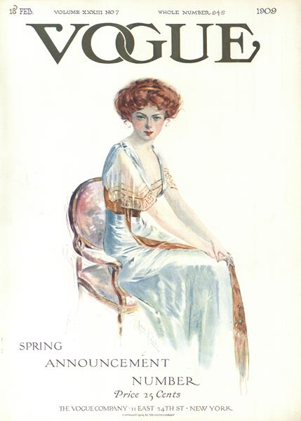 Issue: - February 18 1909 | Vogue