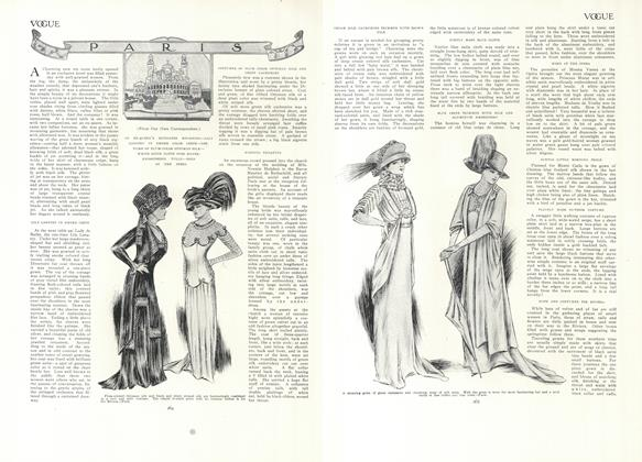 Article Preview: Paris (From Our Own Correspondent), February 18 1909 | Vogue