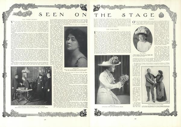 Article Preview: Seen on the Stage, February 18 1909 | Vogue
