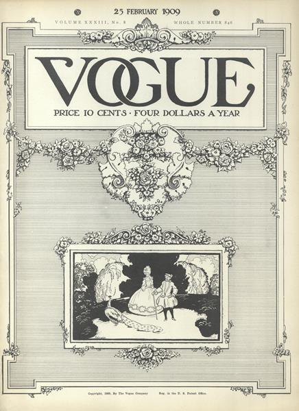 Issue: - February 25 1909 | Vogue