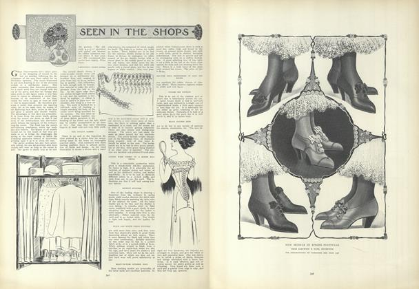 Article Preview: Seen in the Shops, February 25 1909 | Vogue