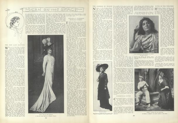 Article Preview: Seen on the Stage, February 25 1909 | Vogue