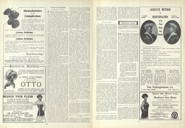 Article Preview: Votes for Women, February 25 1909 | Vogue