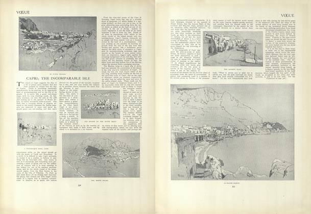Article Preview: Capri: The Incomparable Isle, February 25 1909 | Vogue