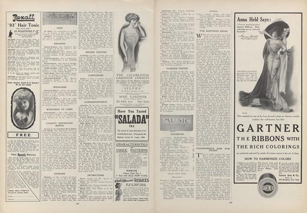 Article Preview: Society, March 4 1909 | Vogue