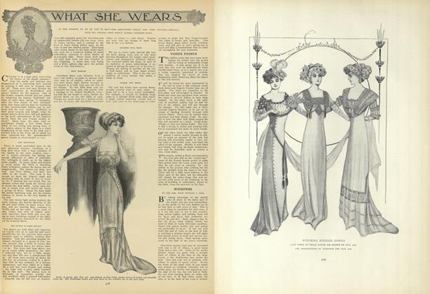 Article Preview: What She Wears, March 11 1909 | Vogue