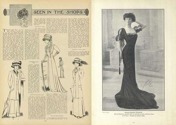 Article Preview: Seen in the Shops, March 11 1909 | Vogue