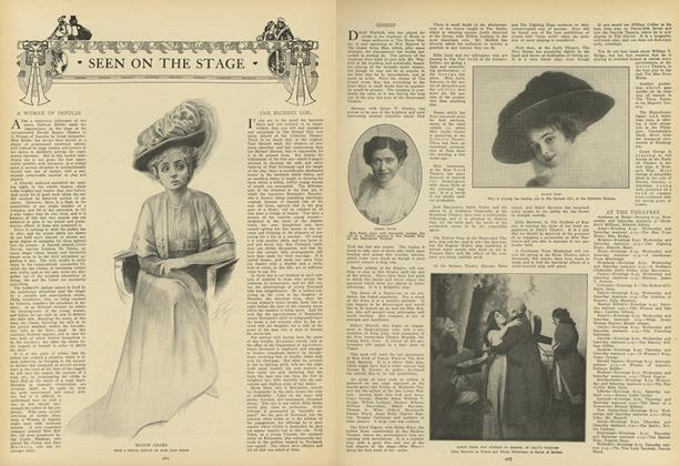 Article Preview: Seen on the Stage, March 11 1909 | Vogue