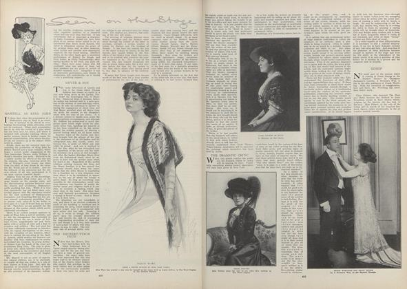Article Preview: Seen on the Stage, March 18 1909 | Vogue