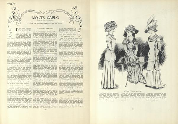 Article Preview: Monte Carlo (From Our Own Correspondent), March 25 1909 | Vogue