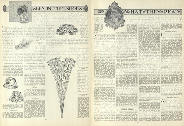 Article Preview: Seen in the Shops, March 25 1909 | Vogue