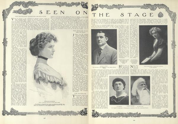 Article Preview: Seen on the Stage, March 25 1909 | Vogue