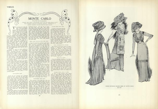 Article Preview: Monte Carlo, April 1 1909 | Vogue