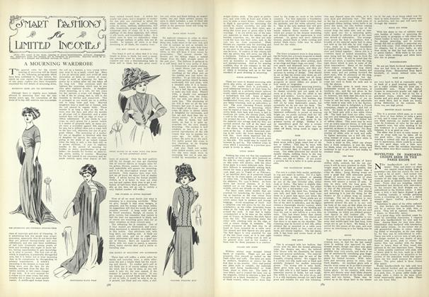 Article Preview: Smart Fashions for Limited Incomes, April 1 1909 | Vogue